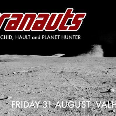 Ultranauts gig poster