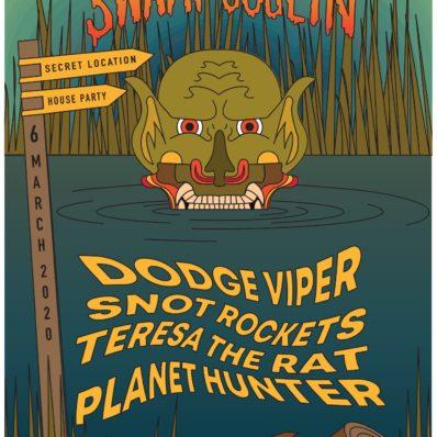 Swamp Goblin gig poster
