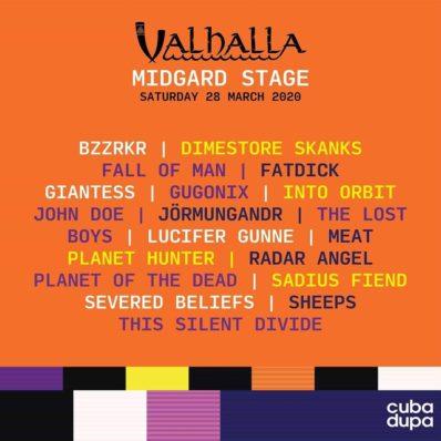 CubaDupa gig poster