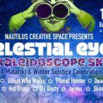 Planet hunter Celestial Eyes in Kaleidoscope Skies