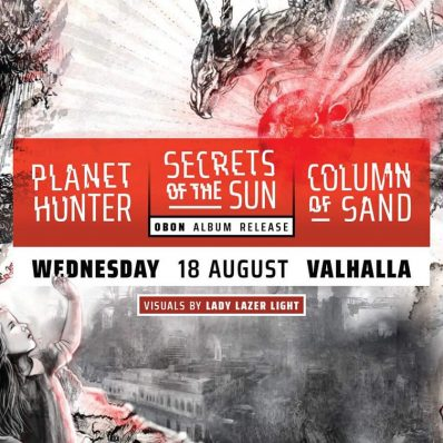 18 August 2021: Secrets of the Sun Album Release with Column of Sand